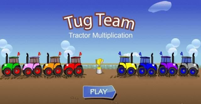 screen shoot tug team tructor multiplication