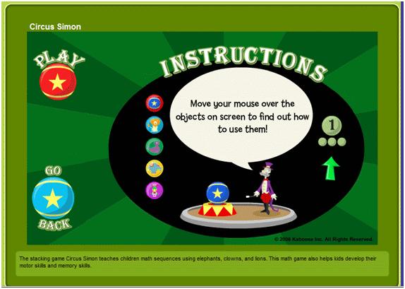 Circus Simon - Instruction 1