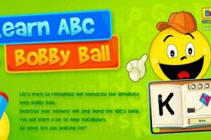 Learning ABC With Bobby Ball