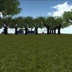 Simulasi Lapangan Futsal PLN ITS