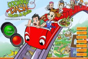 """Review Game : Cooking Dash 3 """"Thrills & Spills"""""""