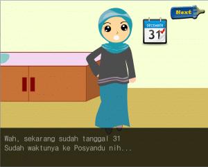 Gambar 2. Tampilan Halaman Simulasi