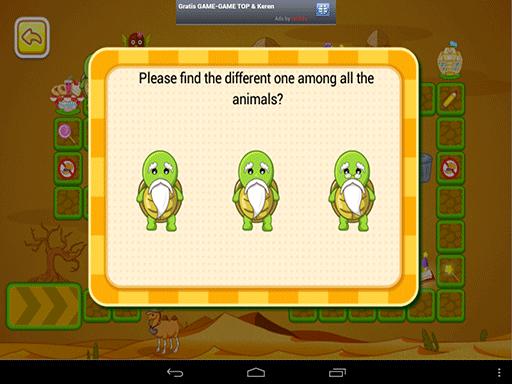 Mana kura-kura yang berbeda?
