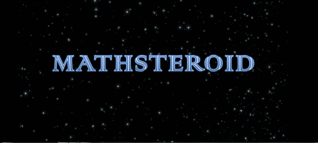 Mathsteroid title