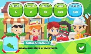 Gambar 5. Tampilan Permainan Level Penuh Selesai