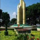 Simulasi Monumen Bambu Runcing Surabaya
