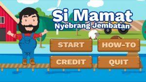Si Mamat Nyebrang Jembatan