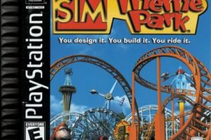 Review Game Sim Theme Park